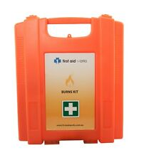 First Aid Works Burns First Aid Kit Wall Mount FAWBK
