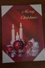 NEW Light-Up Merry Christmas LED Canvas LED CWall Art Holiday Xmas Winter Season