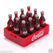 COCA-COLA Coke Fridge Magnet Miniature 12 Bottles Case Dollhouse Collectibles