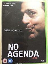 Omid Djalili NO AGENDA ~ Live London Palladium Stand Up Comedy Concert | UK DVD