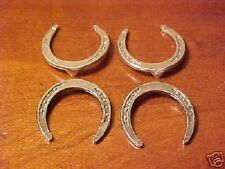 RDLC Peter Stone Standing Drafter Model Horse DRAFT HORSE SHOES Pewter Set-of-4