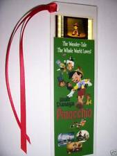 PINOCCHIO Disney Movie Memorabilia Film Cell Bookmark