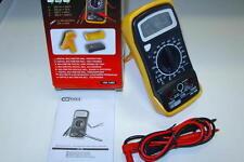 1 Multimetre digital +baterie+ cables et coque anti-choc PROMO KStools 150.1495