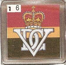 Acrylic Military Key Ring  5th  R. Inniskilling Dragoon