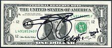 JASON SEHORN SIGNED ONE DOLLAR BILL NFL NEW YORK GIANTS ST LOUIS RAMS USC TROJAN