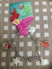 DISNEY THE LITTLE MERMAID ARIEL & SEBASTIAN CHARM BRACELET NEW FROM PRIMARK