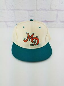 NWT New / OLD Vintage 1990s Miami Dolphins New Era Fitted Hat 80s 90s Sz 7