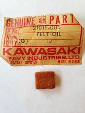 KAWASAKI OIL FELT  KZ650  21019-005  NOS!