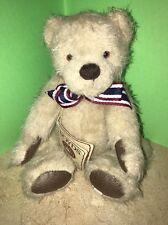 Boyds Bears Stuffed Plush Mohair Teddy Bear ~ Cody ~ Mint With Tags Mwt