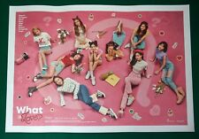 Twice - What Is Love A Ver. Official Unfolded Poster Hard Tube Case NEW