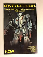 WSP-1A WASP Battletech Science Fiction Combat Book Game, Collector's Grade