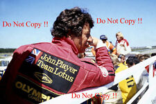 Mario Andretti JPS Lotus F1 Portrait Swedish Grand Prix 1978 Photograph