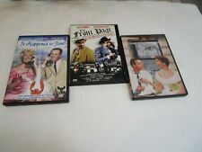3 Jack Lemmon: The Apartment (01) It Happened To Jane (04) The Front Page (98)