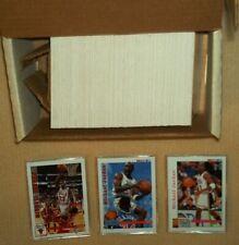 1992-93 Hoops Series 1 Basketball - COMPLETE 350 card set - Michael Jordan, Bird