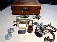 first Polygraph rare 1906 Museum Lie Detector Interrogation Clockwork MacKenzie
