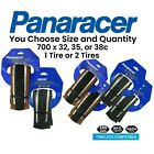 Panaracer Gravel King SLICK TLC 700x 32 35 38 Black or Brown Tubeless Ready Tire