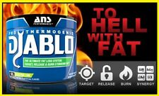 Diablo by ANS PERFORMANCE  Sport  Fat Burner 60 serv PineApple PassionFruit