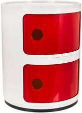 Kartell estilo Componibili cajón gabinete de almacenamiento de Baño Pasillo Mesita de noche Unidad
