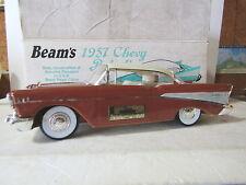 Jim Beam IAJBBSC Rust brown Colored 1957 Chevolet Belair Hard Top Decanter