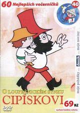O loupeznickem synku Cipiskovi DVD paper sleeve Czech animated series Rumcajs