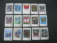Sierra Leone 1987 Butterflies SC# 859-873 MNH