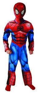 Ultimate Spider-Man Premium Costume for Children Childrens Fancy Dress Original