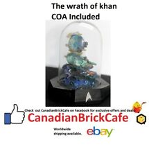 star Trek Franklin mint Sculptures with glass domes Coa the wrath of khan