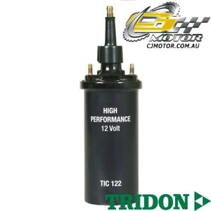 TRIDON IGNITION COIL FOR Ford  Falcon-6Cyl XF(Carb-Leaded)10/84-1/86, 6, 4.1L