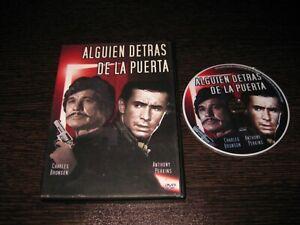 ALGUIEN DETRAS DE LA PUERTA DVD CHARLES BRONSON ANTHONY PERKINS