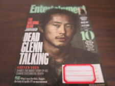 Entertainment Weekly November 4, 2016 Dead Glenn Talking Walking Dead Shocker