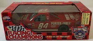1998 Racing Champions WAYNE ANDERSON Porter Cable NASCAR Craftsman Truck 1:24