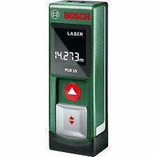 Bosch PLR 15 Digital Laser Measure - Brand New! - Free shipping by FedEx Air