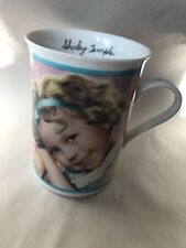 """Danbury Mint Shirley Temple Porcelain Mug """"Stand Up And Cheer�"""