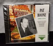 Pat Boone April Love CD, 12 Classic Hits 1997 Compact Disc New Sealed FREE SHIP