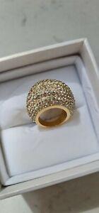 ATELIER SWAROVSKI ring yellow gold 51
