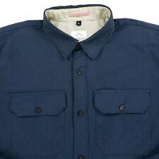 Apolis Global Citizen Standard Shirting Woven Corduroy? Button Down Shirt Sz XL