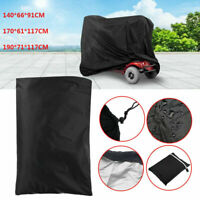 3 Sizes Pro Eldly Mobility Scooter Storage Wheelchair Waterproof Rain Cover Case