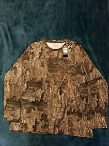 Under Armour UA ISO-Chill Brush Realtree Timber Camo Longsleeve T-Shirt SZ 3XL