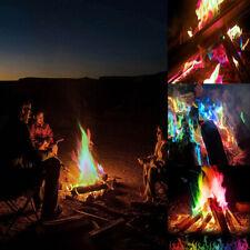 Mystical Fire Magic Tricks Campfire Rainbow Colorful Flame Powder Games Toy