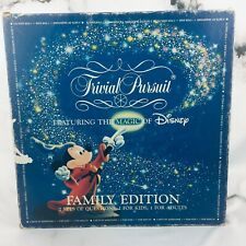 Trivial Pursuit Featuring the Magic of Disney Family Edition 1986