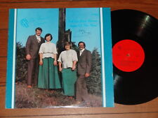 THE SINGING BELIEVERS FALL ON YOUR KNEES SIGNS OF THE TIMES LP Rare Gospel Vinyl