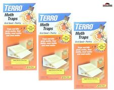 Terro 6 Traps Non Toxic Pantry Moth Pest Insect Glue Trap ~ New