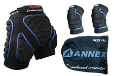 Men's Women's Snowboard Ski Protection Guards Padded Gear Hip Pants+Knee Set NEW