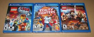 Reality Fighters, Lego Lord Of The Rings & Lego Movie Playstation Vita Brand New