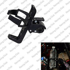 Moto Handlebar Mount Clamp On Cup Holder Beverage Water Bottle Universal For BMW