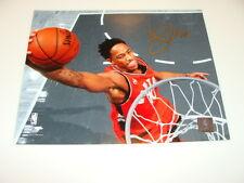 Toronto Raptors Demar DeRozan Signed NBA Basketball 8x10 Autograph COA Picture