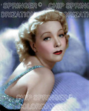 HELEN TWELVETREES in Sequined Gown #1 | 8x10 Sexy COLOR Photo by CHIP SPRINGER
