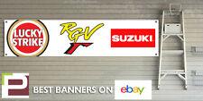 LUCKY STRIKE SUZUKI BANNER for GARAGE WORKSHOP Pit lane RGV250 RGV RG500