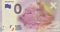 BILLET 0  EURO  NAUSICAA  FRANCE  2016 NUMERO 100