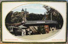 Vintage Canada Postcard H&B INCLINE RAILWAY James Street Hamilton Ontario 1917